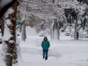 Storm brings record snow; Winter Storm Warning in effect