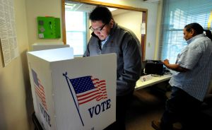 A historic day for casting ballots at Crow Agency