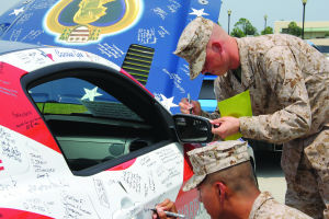 Wounded Warrior Family Support tour rolls through Laurel