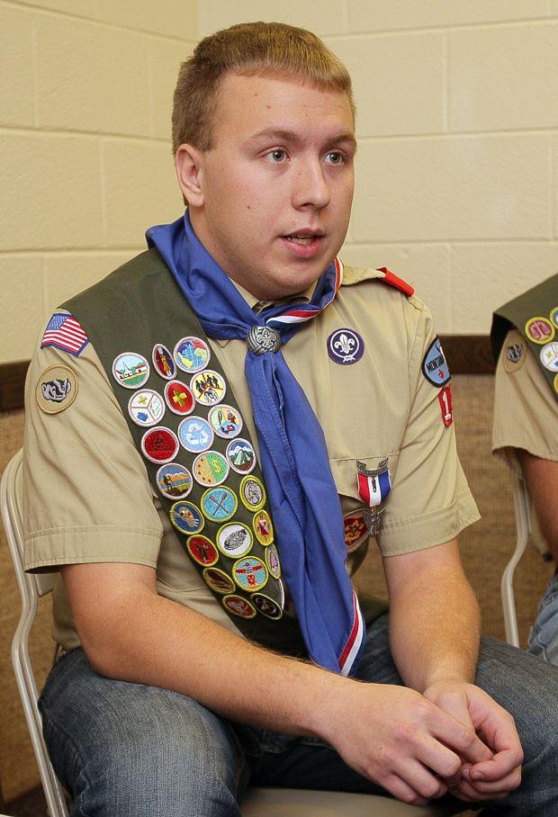 Troop 18 Eagle Scout Thomas Corey