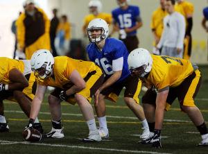 Wyoming football spring practice