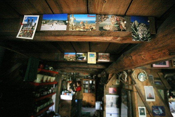 David Murnion and Jacqueline Mercenier's cabin