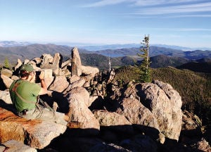 Haystack Mountain: Nondescript summit rewards with views