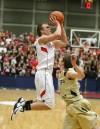 Bozeman's Tanner Roderick attempts a shot