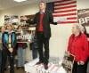 Brown announces state Senate re-election bid