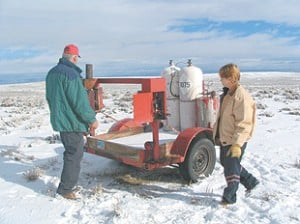 Snow in the making: Cloud seeding boosts snowpack for water supply