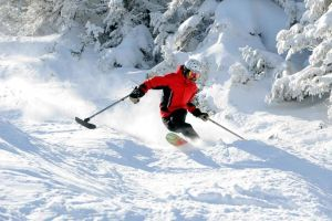 Amputee passionately pursues backcountry skiing, outdoor fun