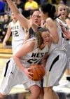 West girls happy with progress in 62-42 win over Skyview