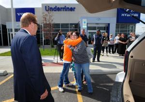 United Way, Underriner give van to Billings mom of 2