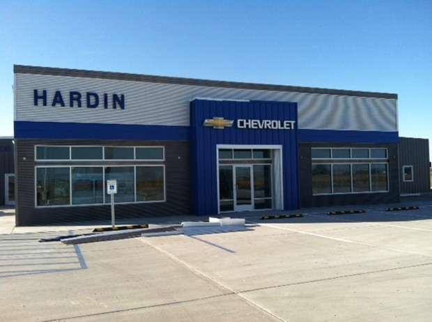 hardin 39 s new chevy dealership almost completed billings news. Black Bedroom Furniture Sets. Home Design Ideas