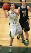 Kelsey George, 12, shoots