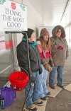 Salvation Army donation bucket stolen in front of Wal-Mart