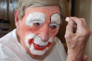 Creeky, the world's working oldest clown, dies at 98