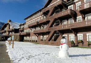 Late-summer storm brings snowmen to Glacier National Park, social media