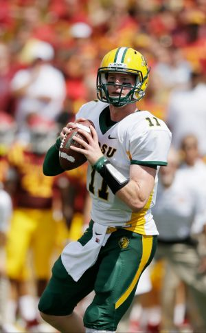 Bison QB ready for Grizzly challenge