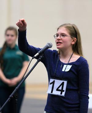Eighth-grader Hope Compton