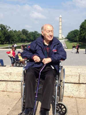 WWII veterans arrive in D.C. on 4th Big Sky Honor Flight