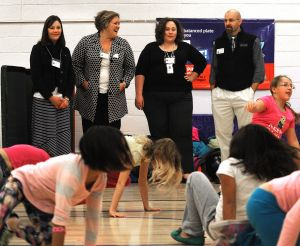 Learning, plus breakfast, hip hop and a side of drama: Billings leaders become educators for a day