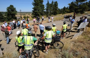 Ground broken for new segment of Swords Park Trail
