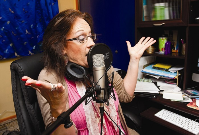 Former Gillette disc jockey pursues her new voice-over ...