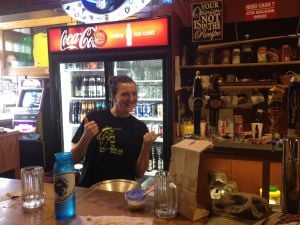 Hitting the Road: Beer Jug in Glendive