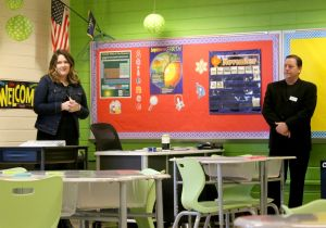 Everything moves in upgraded special education classroom