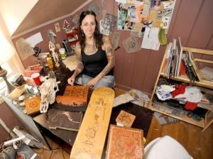 Creator of Girl Wood talks about learning craftsmanship from her father