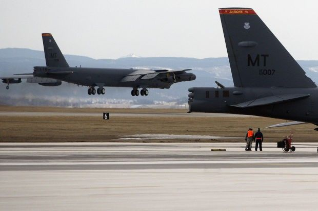 Air Force releases study of bomber training zone that would include SE Montana