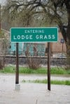 Lodge Grass flooding