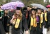 900 graduate as rain holds off until end of 116th commencement at UM
