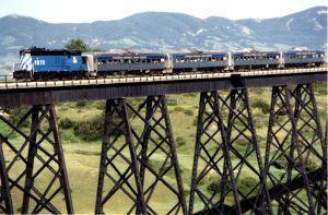 Themed train ride offers peek into Montana history