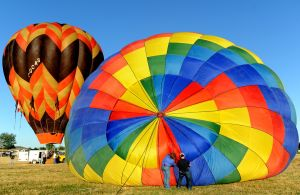 Balloons take flight at Magic City Hot Air Balloon Rally