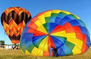 Balloons take flight at Magic City Hot Air Balloon Rally