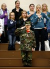 Will James Middle School honors veterans
