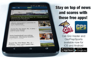 Free Cat-Griz Insider and GazPrepSports apps available today