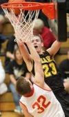 West's Danny Betcher puts up a shot