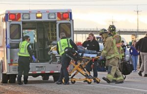 3 from Laurel injured in head-on crash on S. Frontage Road, 1 in critical condition