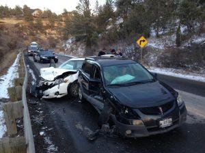 1 person injured in Zimmerman Trail crash