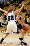 Jessi Zuroff loses control of the ball