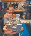 MSU students build small satellite