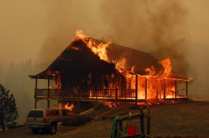 9 structures confirmed lost in 19 Mile Fire west of Whitehall