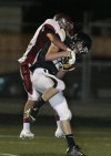 Trace Alkire of West catches a touchdown pass