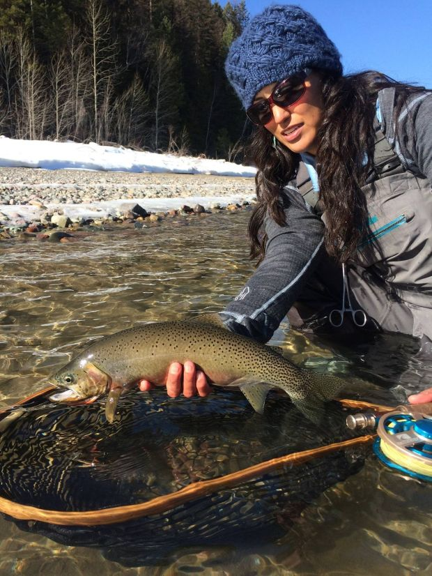 Fly fishing tv show host stays cool amid glitches for Fishing tv shows