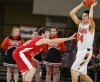 Glendive's Tanner Phipps guards Kirt Laforge