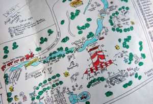Treasured map: illustrations lend magic to Saturday Live