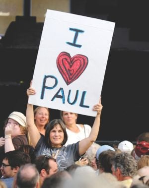 Fools on the hill: Fans flock to Missoula for McCartney show