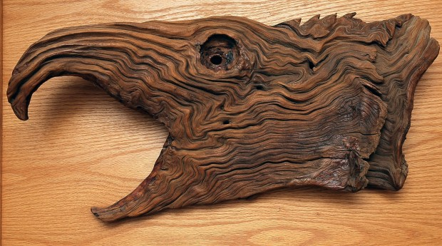 Barb grove s found wood carving