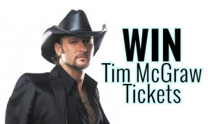 Tim McGraw ticket giveaway