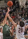 Central's Connor Cerkovnik shoots