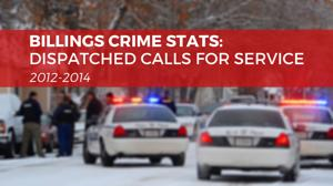 Crime stats: Dispatched calls for service